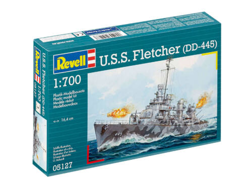 Revell U.S.S. Fletcher (DD-445) 1:700 (5127)
