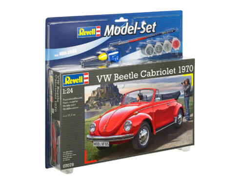 Revell Model Set VW Beetle Cabriolet 1970 1:24 (67078)