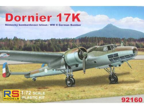 Dornier 17 K German Bomber 4 Decal Version