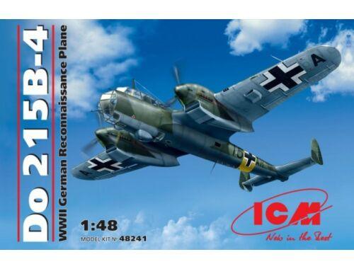 ICM Do 215 B-4 WWII German Reconnaissance Plane 1:48 (48241)