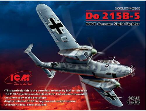 ICM Do 215 B-5 WWII German Nightfighter 1:48 (48242)