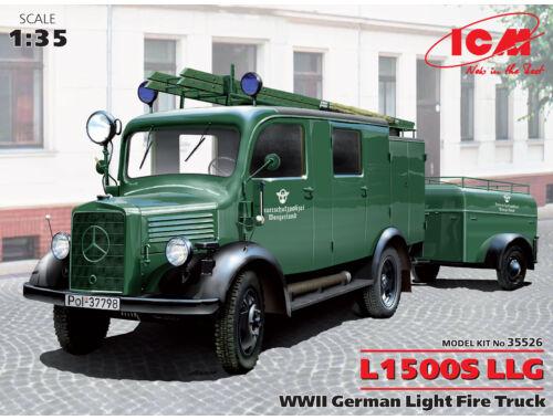 ICM L1500S LLG, WWII German Light Fire Truck 1:35 (35526)