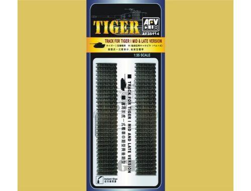 AFV Club TIGER I TRACKS (SOFT RUBBER) 1:35 (AF35114)