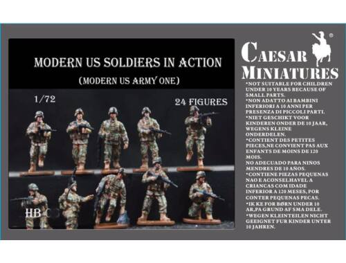 Caesar Moders US Soldiers in Action 1:72 (HB11)
