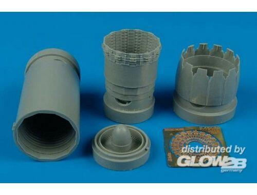Aires F-16C Block 30/40/50/60 exhaust nozzle für Tamiya Bausatz 1:48 (4425)