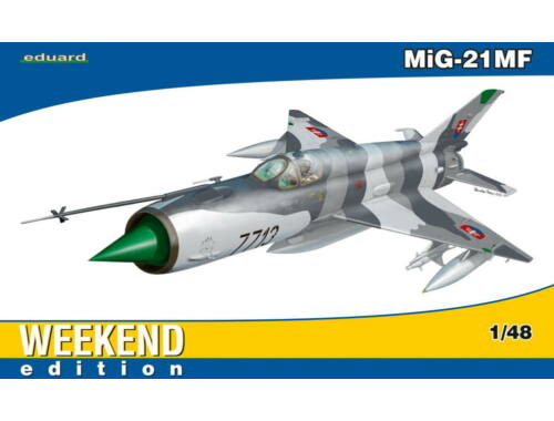 Eduard MiG-21MF WEEKEND edition 1:48 (84126)