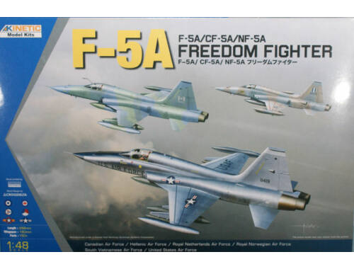 Kinetic F-5A/CF/-5A/NF-5A Freedom Fighter 1:48 (48020)