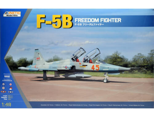 Kinetic F-5B/CF-5B/NF-5B Freedom Fighter 1:48 (48021)