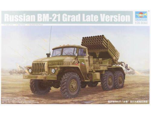 Trumpeter Russian BM-21 Hail MRL-Late 1:35 (1014)