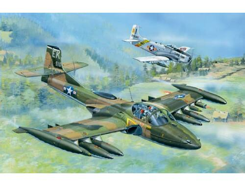 Trumpeter US A-37A Dragonfly Light Ground-Attack 1:48 (02888)