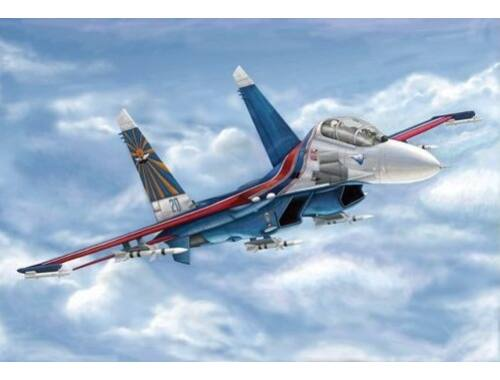 Trumpeter Russian Su-27UB Flanker C 1:144 (3916)