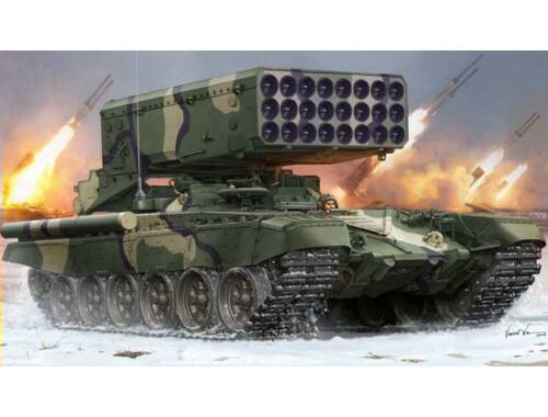 Trumpeter Russian TOS-1 24-Barrel Multipe Rocket L 1:35 (05582)