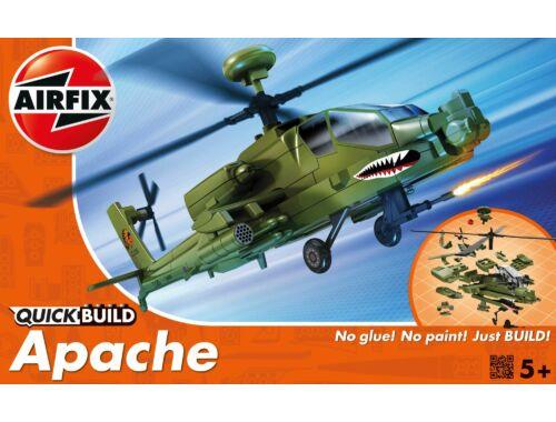 Airfix Quickbuild Apache helikopter J6004