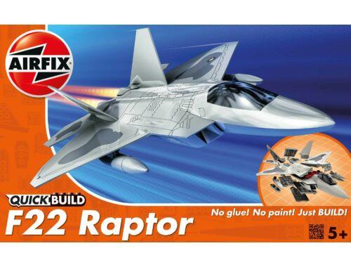 Airfix Quickbuild Raptor repülő J6005