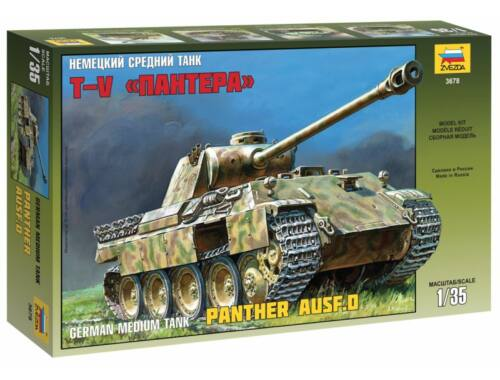 Zvezda Military Panther Ausf. D. 1:35 (3678)