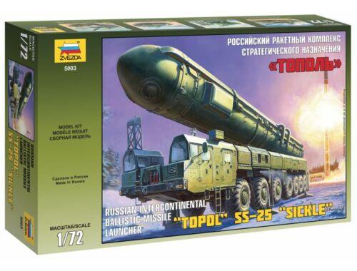 Zvezda Ballistic Missile Launcher 'Topol' 1:72 (5003)
