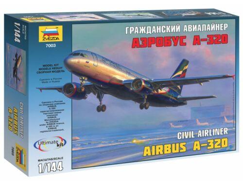 Zvezda Airbus A-320 1:144 (7003)