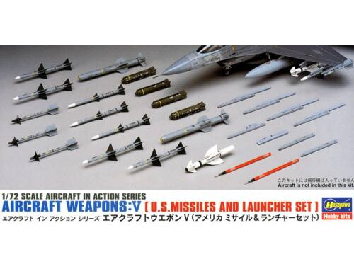 Hasegawa US Missiles and Launcher 1/72 (X72-9)
