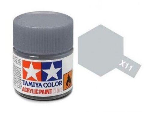 Tamiya AcrMini X-11 Chrome Silver (81511)