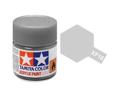 Tamiya AcrMini XF-16 Flat Aluminum (81716)
