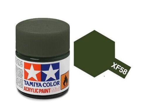 Tamiya AcrMini XF-58 Olive Green (81758)