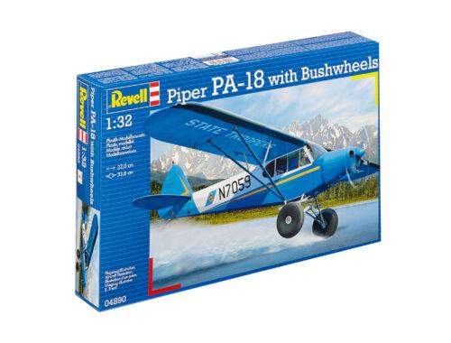 Revell Piper PA-18 w/Bushwheels 1:32 (4890)