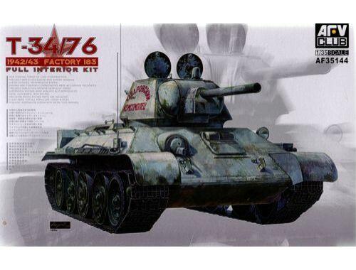 AFV Club T34/76 Mod. 1942/43 No.183 (Full Int.) 1:35 (AF35144)