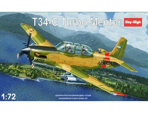 Sky High T-34C Turbomentor Argentinian AF 1:72 (7225)
