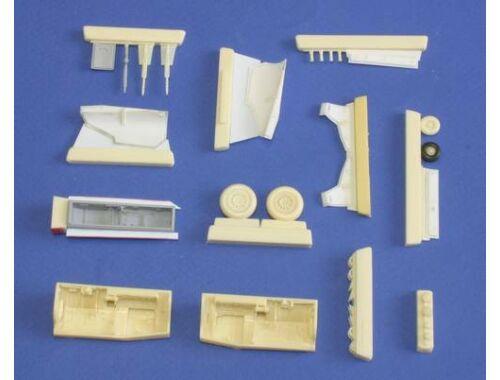 CMK JAS-39D Gripen - undercariage set for Italeri 1:48 (4196)