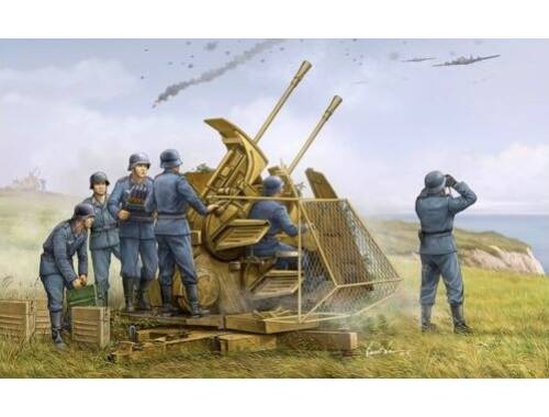 Trumpeter German 37mm Flak 43 Zwilling 1:35 (02347)