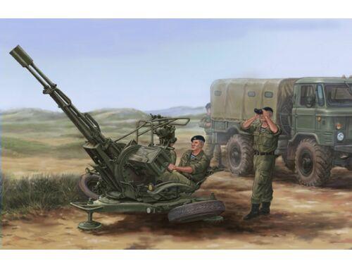 Trumpeter Russian ZU-23-2 Anti-Aircraft Gun 1:35 (02348)