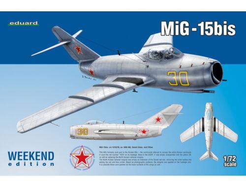 Eduard MiG-15bis Weekend 1:72 (D7424)