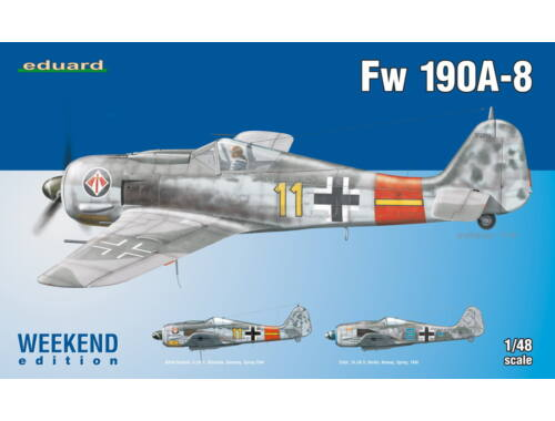 Eduard Fw 190A-8 WEEKEND edition 1:48 (84120)
