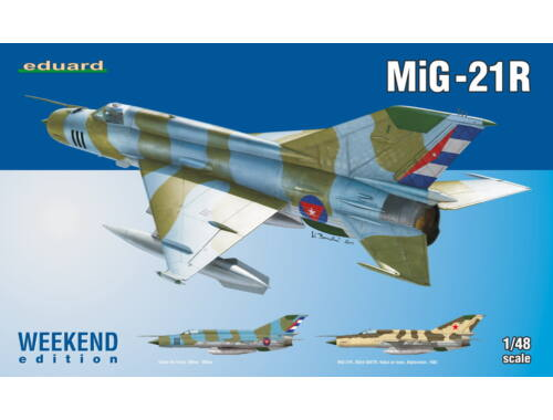 Eduard MiG-21R WEEKEND edition 1:48 (84123)