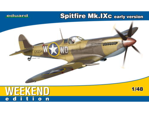 Eduard Spitfire Mk.IXc early version WEEKEND edition 1:48 (84137)