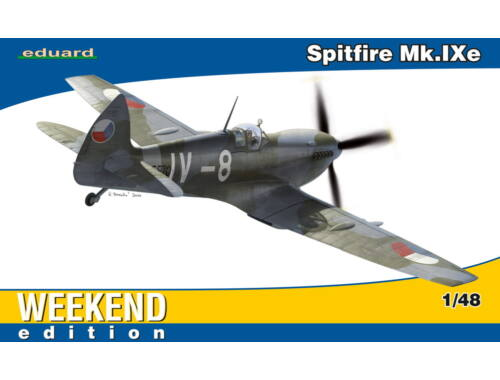 Eduard Spitfire Mk.IXe WEEKEND edition 1:48 (84138)