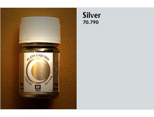 Vallejo Model Color 211 Silver Liquid Gold 70.790