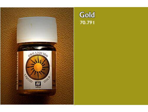 Vallejo Model Color 212 Gold Liquid Gold 70.791