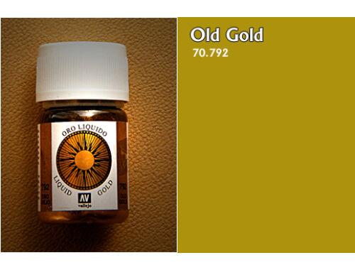 Vallejo Model Color 213 Old Gold Liquid Gold 70.792