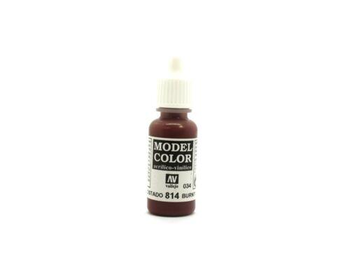 Vallejo Model Color 34 Burnt Cadmium Red 70.814