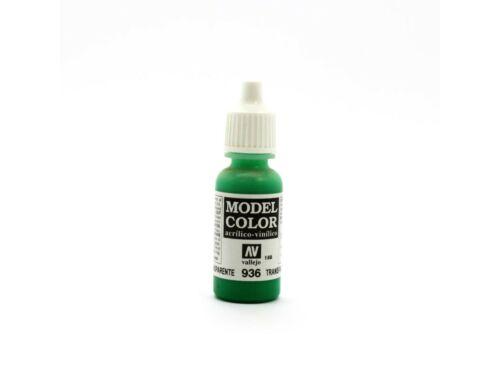 Vallejo Model Color 188 Transparent Green 70.936