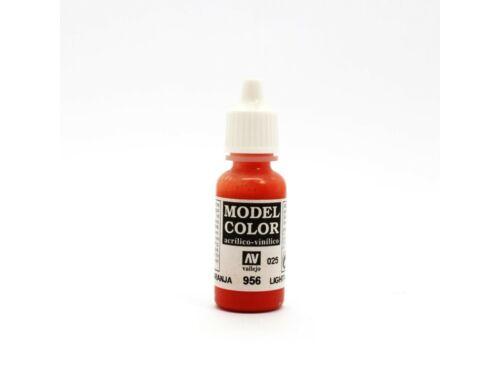 Vallejo Model Color 25 Clear Orange 70.956