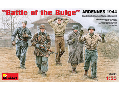 "Miniart Battle of the Bulge"". Ardennes 1944 1:35 (35084)"