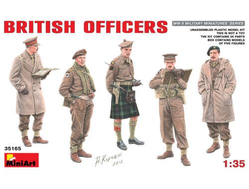 Miniart British Officers 1:35 (35165)