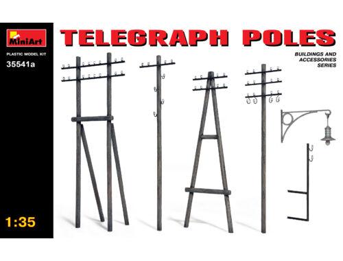 Miniart Telegraph Poles 1:35 (35541A)