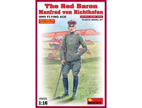 Miniart Red Baron. Manfred von Richthofen.WW1 Flying Ace 1:16 (16032)