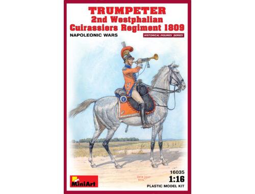 Miniart Trumpeter. 2nd Westphalian Cuirassiers Regiment 1809 1:16 (16035)