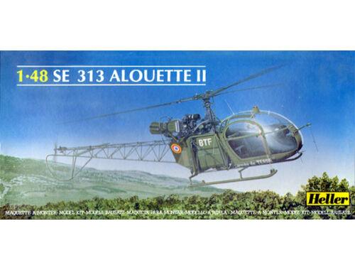 Heller Aerospatiale SE 313 Alouette II 1:48 (80479)