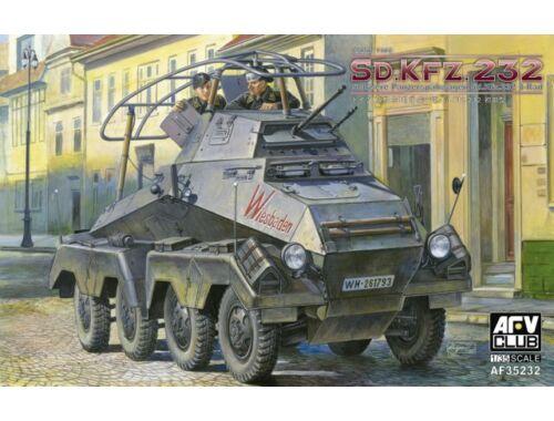 AFV Club SD.KFZ.232 Schwere Panzerspähwagen 8 Rad 1:35 (AF35232)