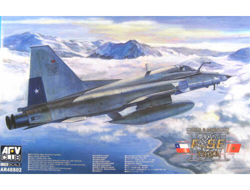 AFV Club F5 E Tiger II Chile 1:48 (AR48S02)